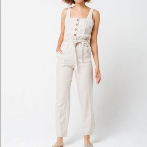 Mimi Chica Pants - Linen Jumper Mimi Chica Small Very form fitting